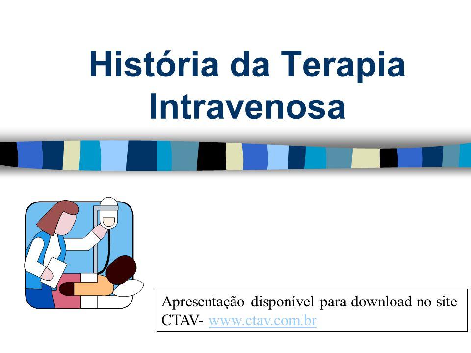 História da Terapia Intravenosa