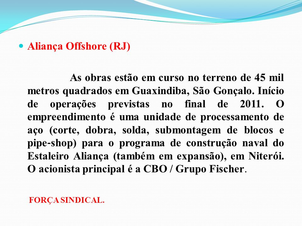 Aliança Offshore (RJ)