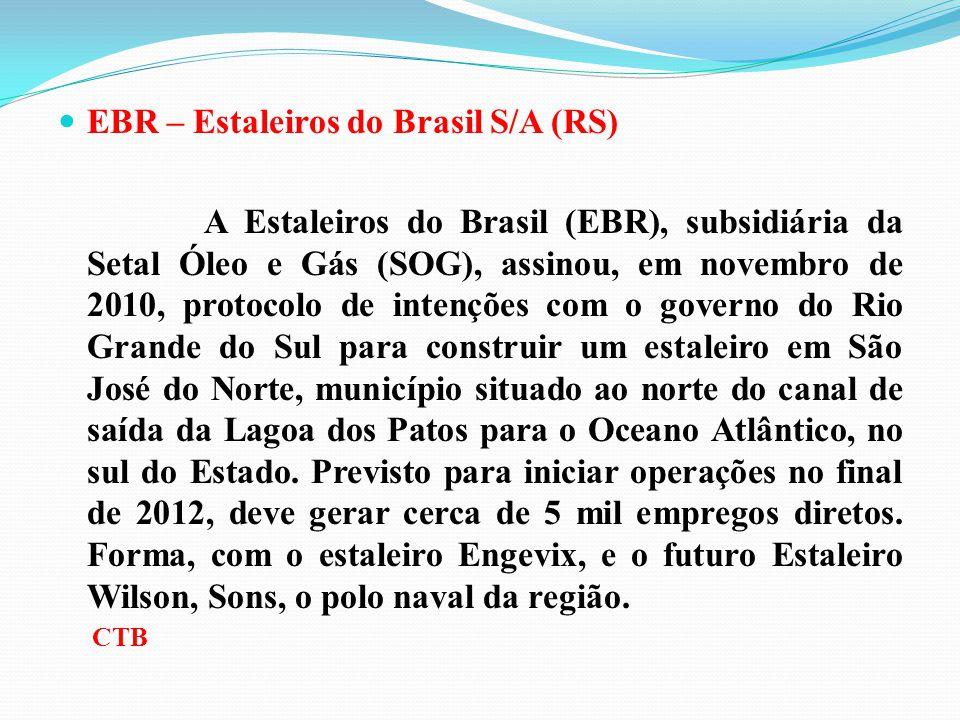 EBR – Estaleiros do Brasil S/A (RS)