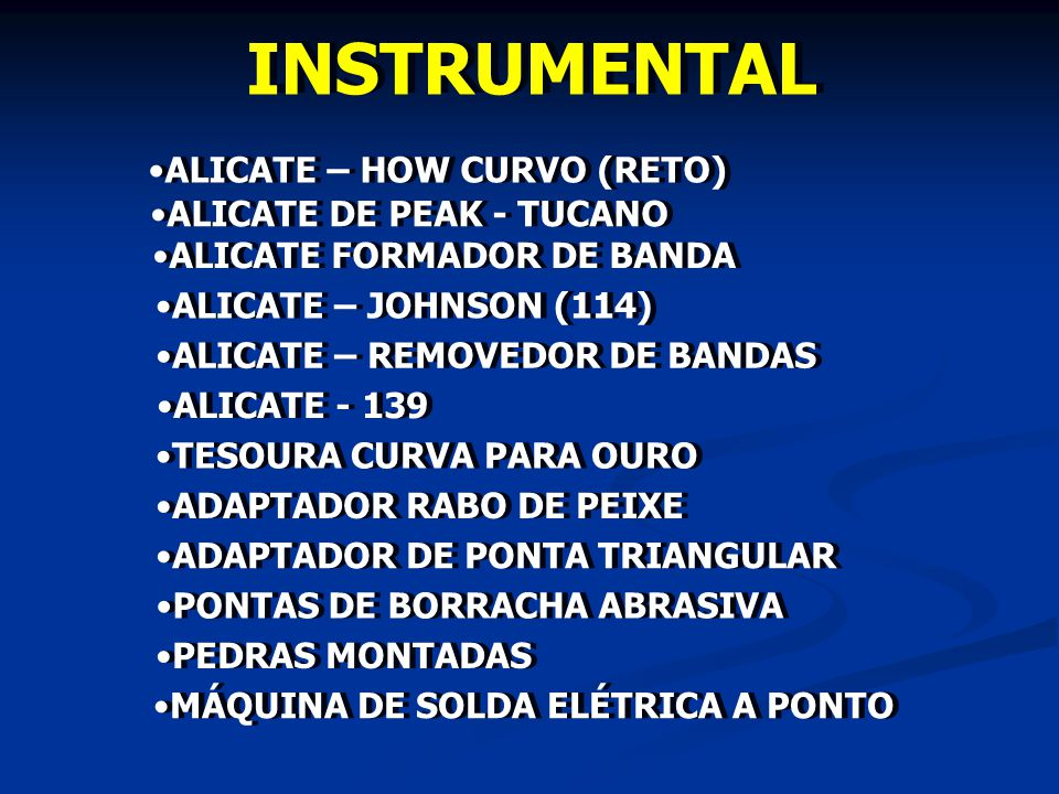 INSTRUMENTAL ALICATE – HOW CURVO (RETO) ALICATE DE PEAK - TUCANO
