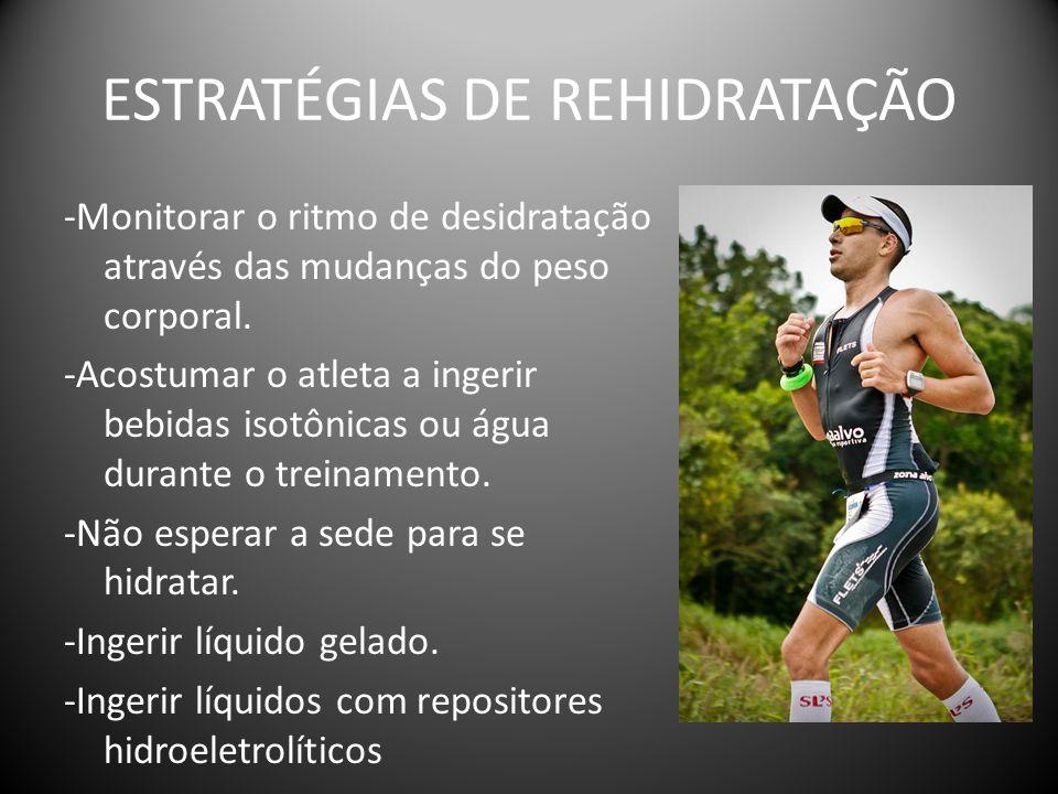ESTRATÉGIAS DE REHIDRATAÇÃO