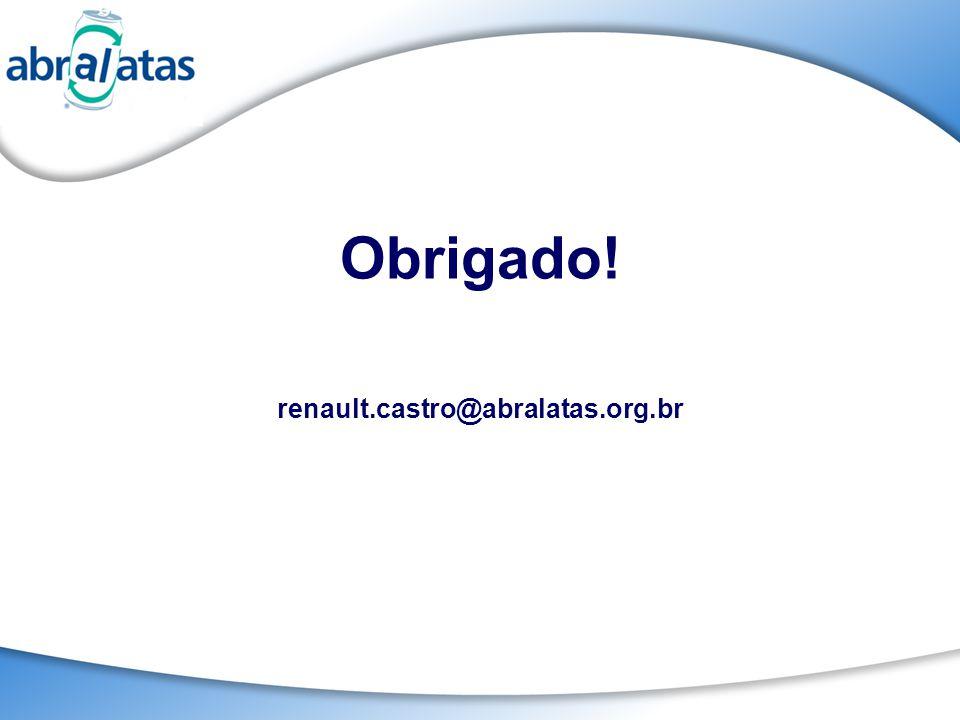 Obrigado! renault.castro@abralatas.org.br