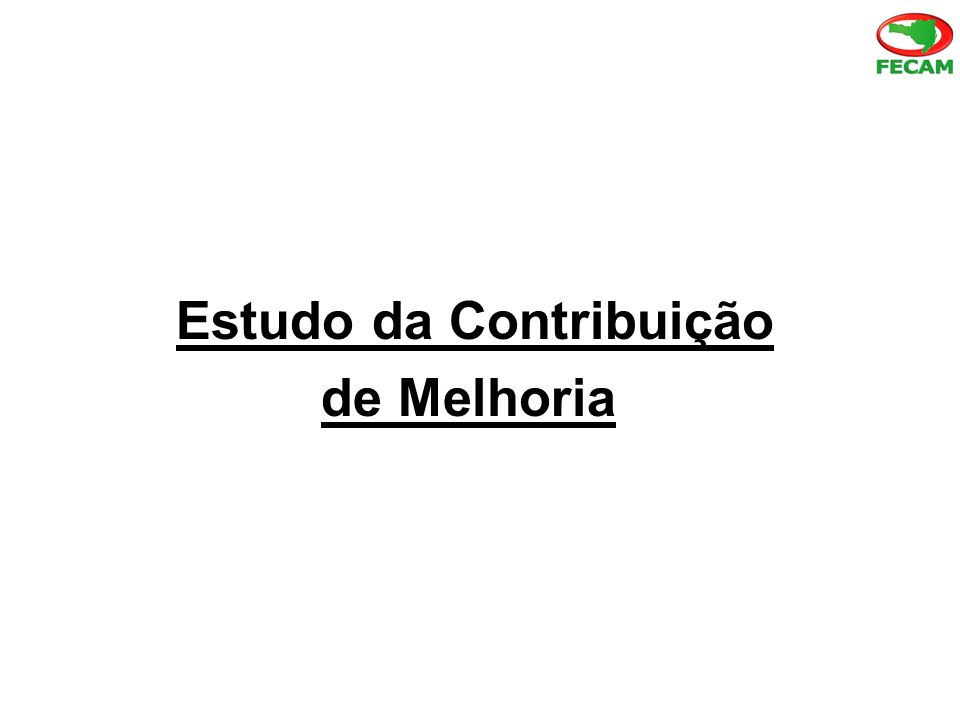 Estudo da Contribuição