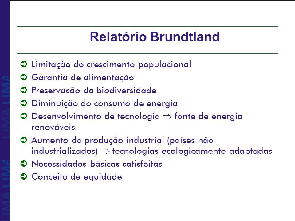 Relatório Brundtland Limitação do crescimento populacional