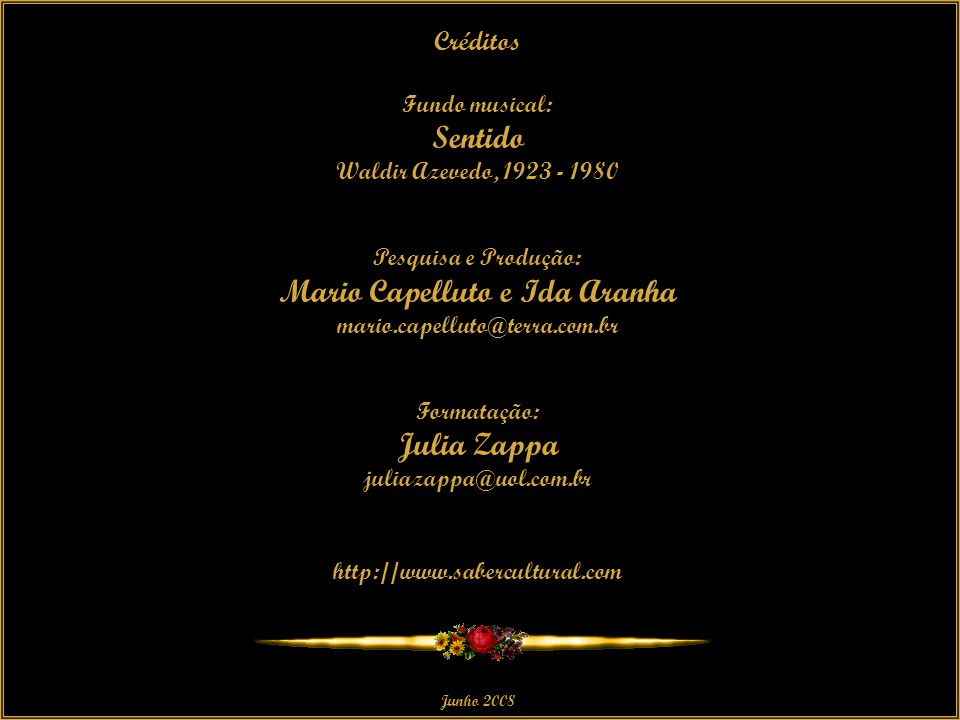 Mario Capelluto e Ida Aranha