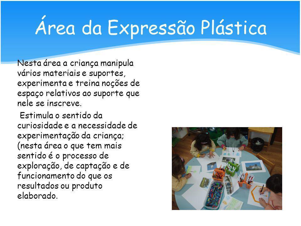 Área da Expressão Plástica