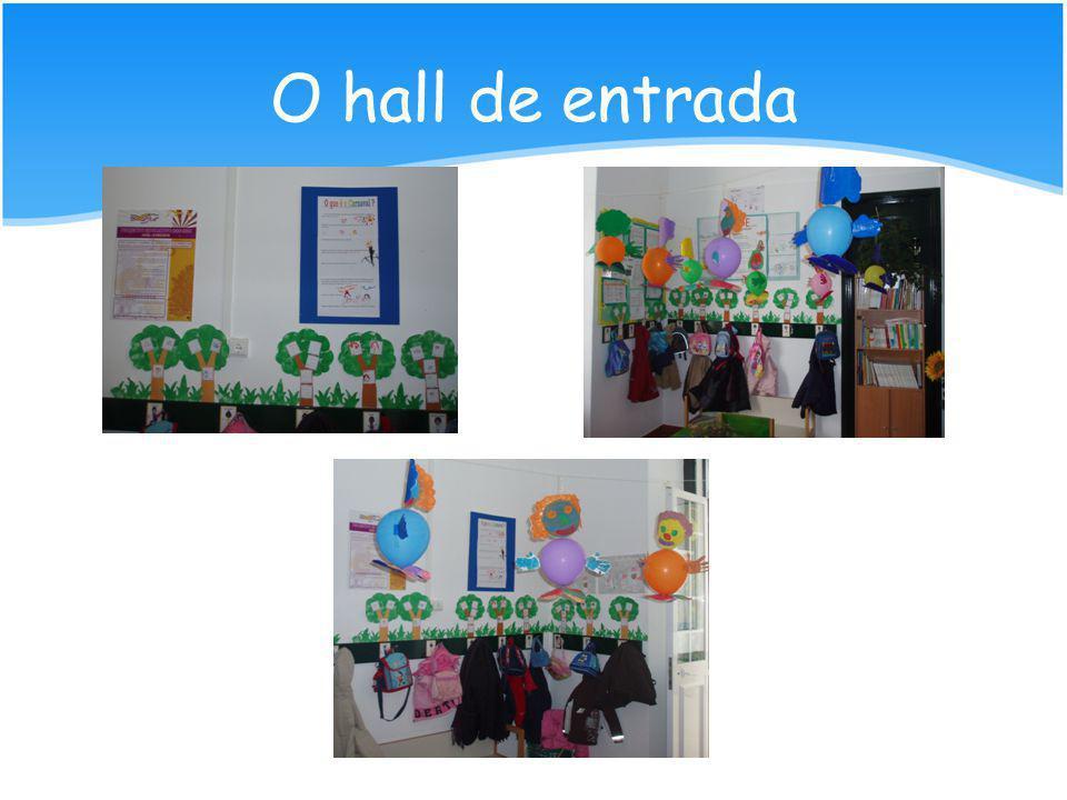 O hall de entrada