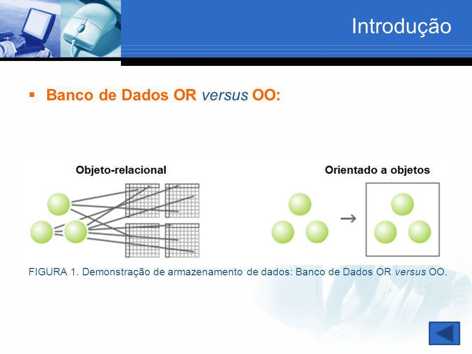 Introdução Banco de Dados OR versus OO: