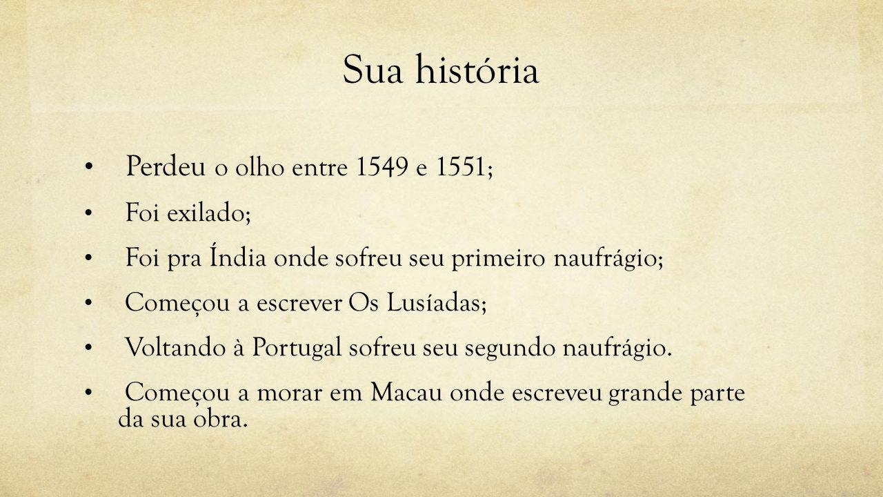 Sua história Perdeu o olho entre 1549 e 1551; Foi exilado;