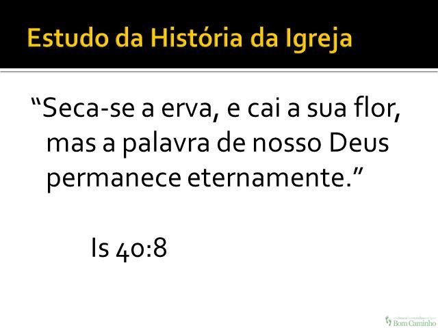 Estudo da História da Igreja