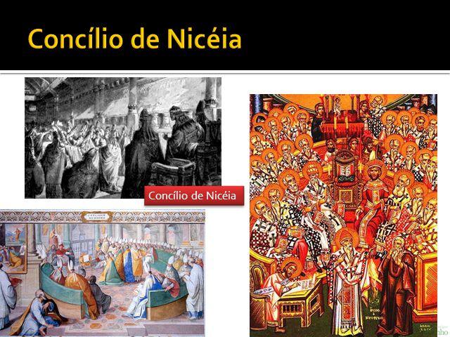Concílio de Nicéia Concílio de Nicéia