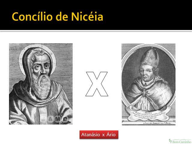 Concílio de Nicéia X Atanásio x Ário