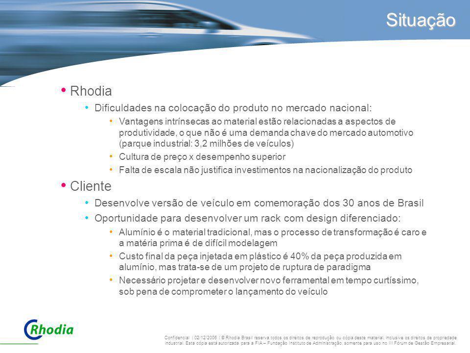Situação Rhodia Cliente