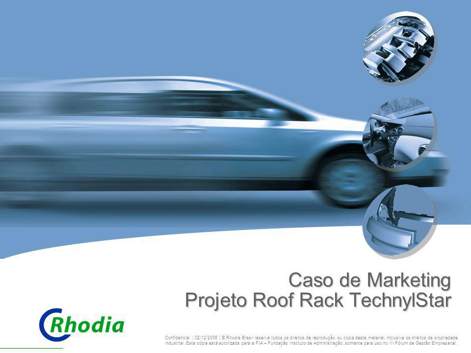 Caso de Marketing Projeto Roof Rack TechnylStar