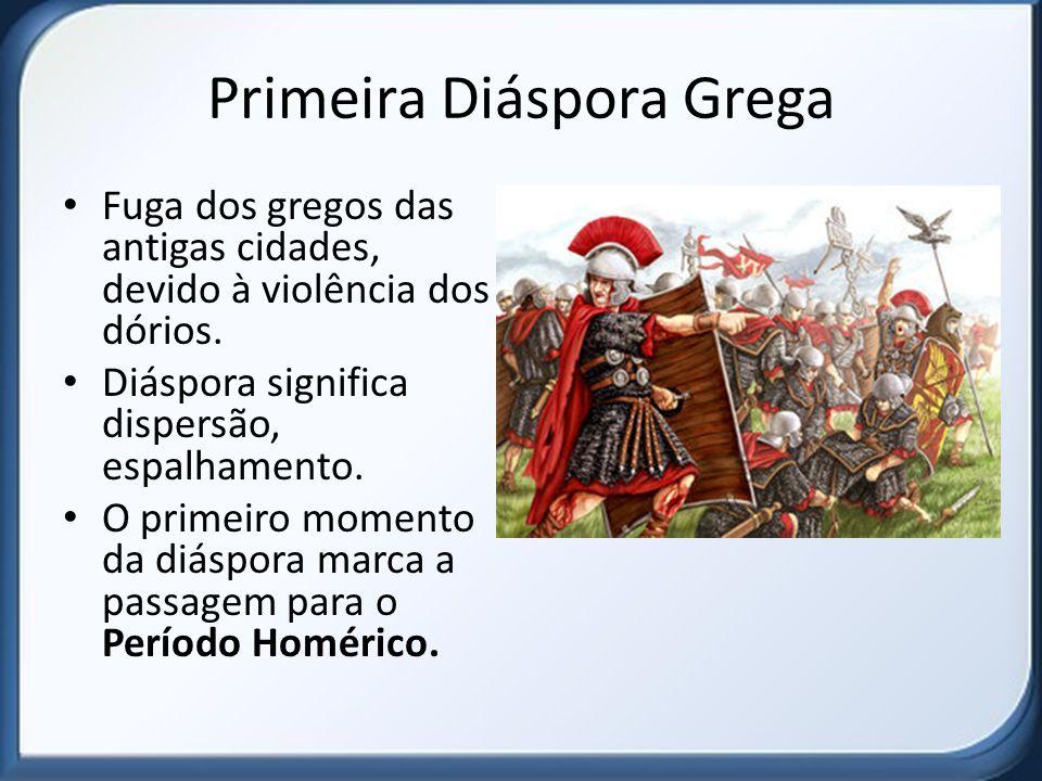 Primeira Diáspora Grega