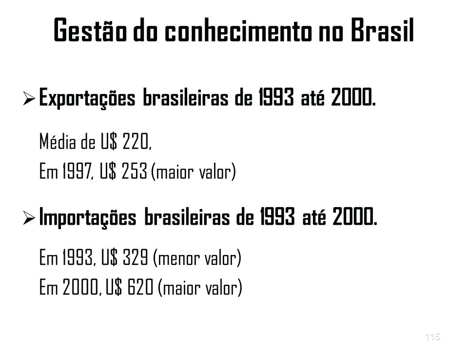Gestão do conhecimento no Brasil