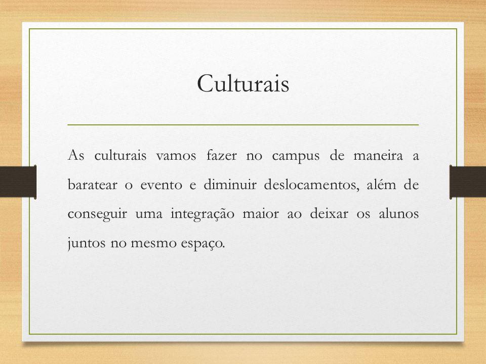 Culturais