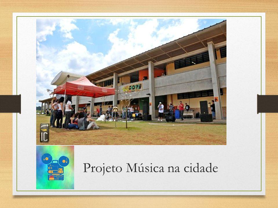 Projeto Música na cidade
