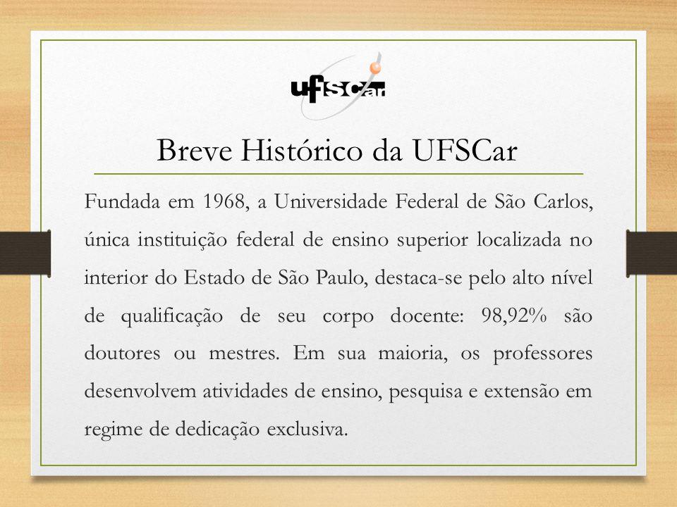 Breve Histórico da UFSCar