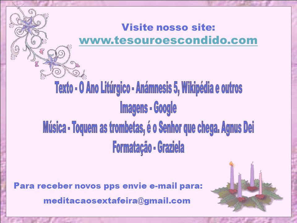 Visite nosso site: www.tesouroescondido.com