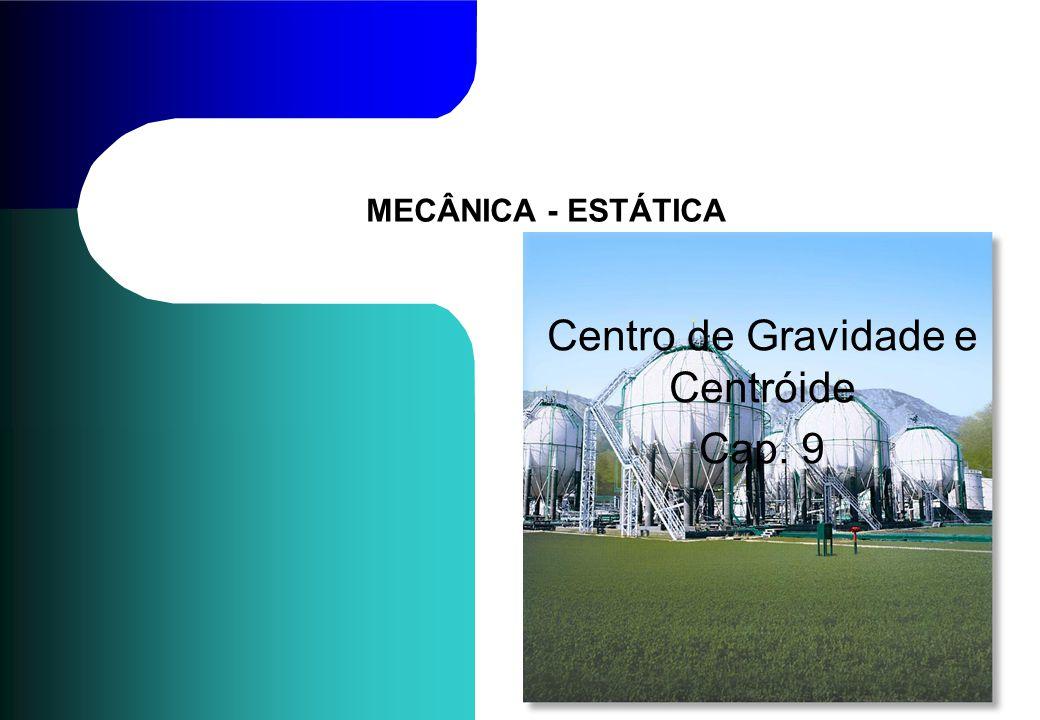 Centro de Gravidade e Centróide Cap. 9