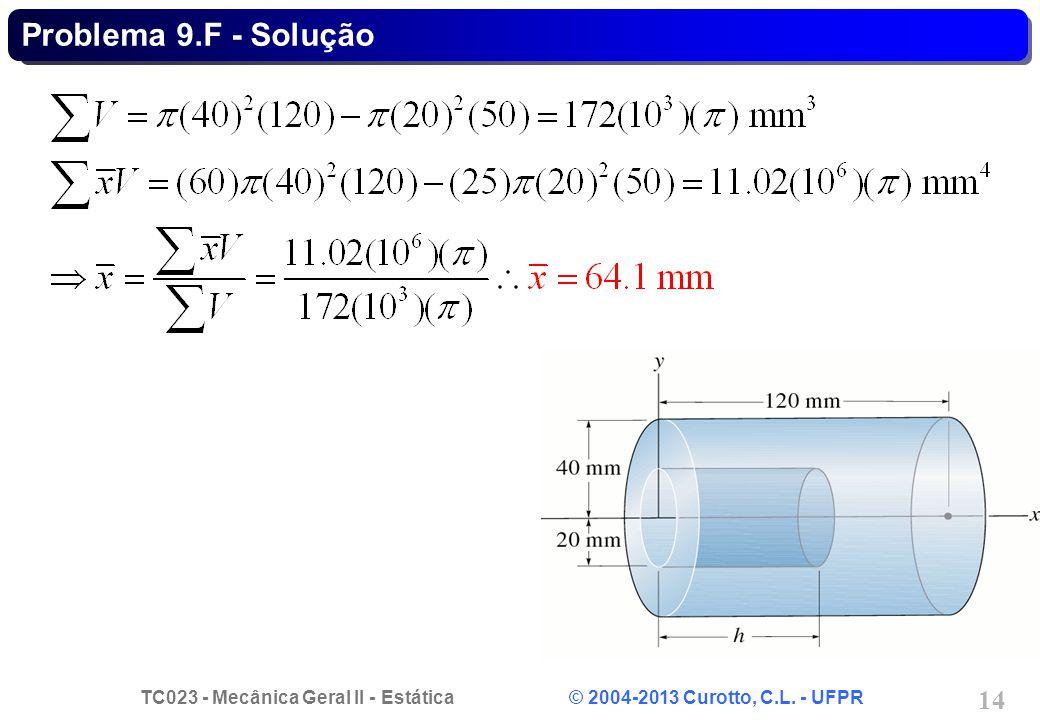 Problema 9.F - Solução