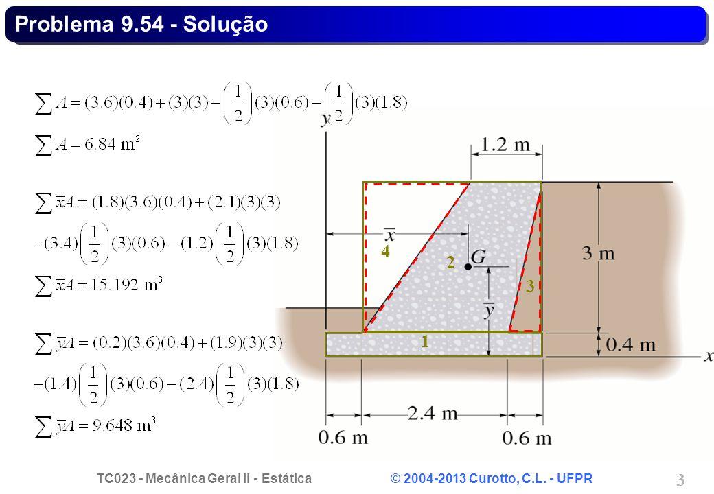 Problema 9.54 - Solução 1 2 3 4