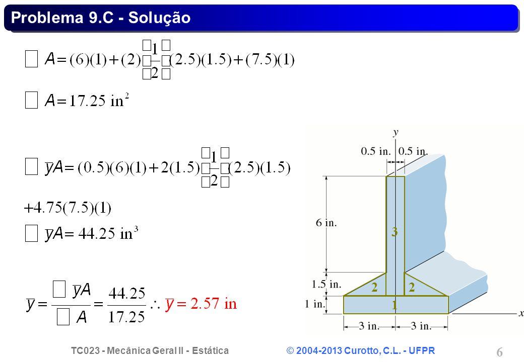 Problema 9.C - Solução 3 2 2 1