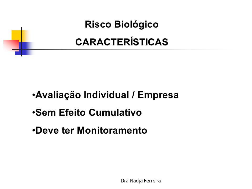 Risco Biológico CARACTERÍSTICAS