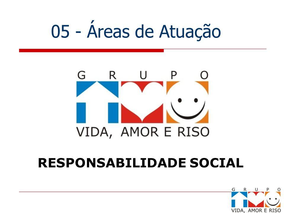 05 - Áreas de Atuação RESPONSABILIDADE SOCIAL