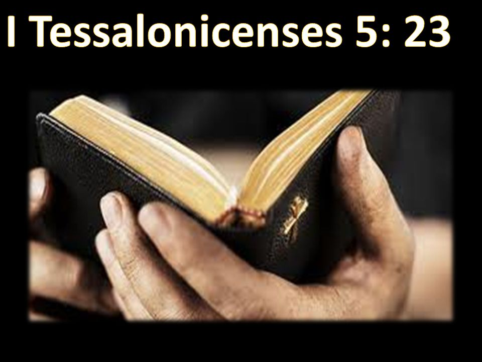 I Tessalonicenses 5: 23