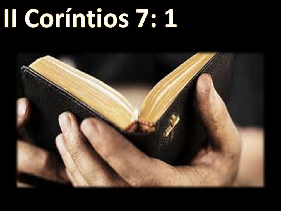 II Coríntios 7: 1