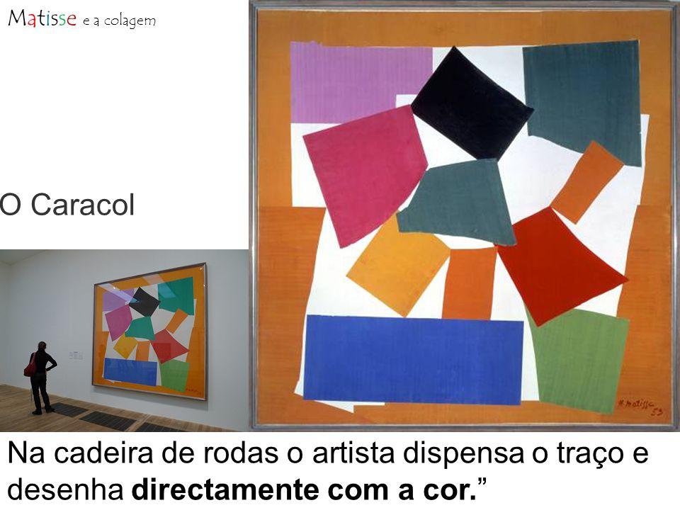 Matisse e a colagem O Caracol.