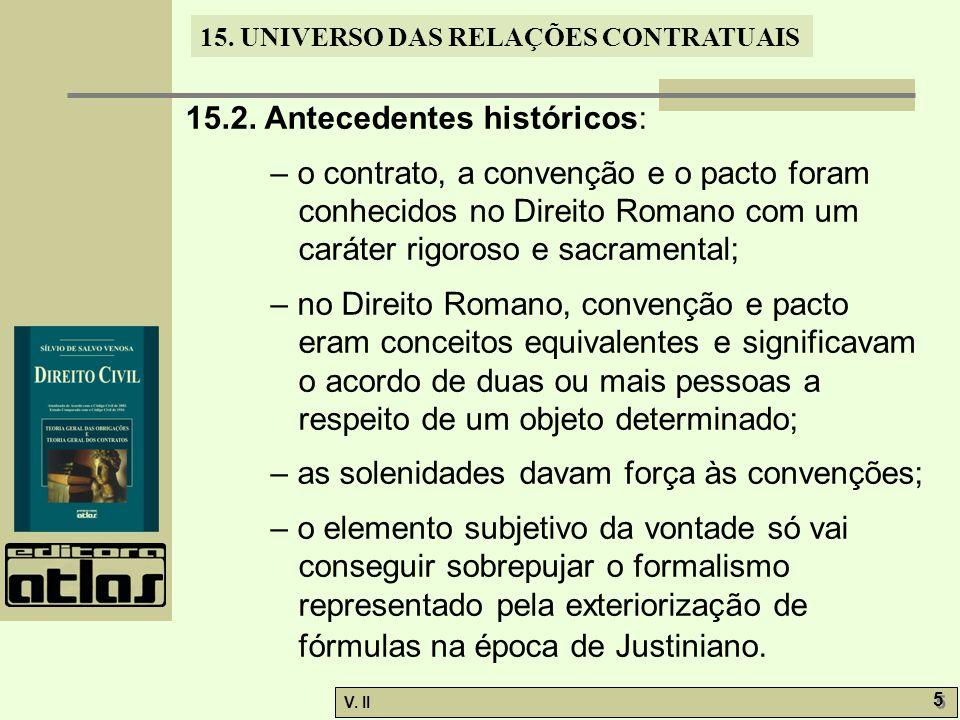 15.2. Antecedentes históricos: