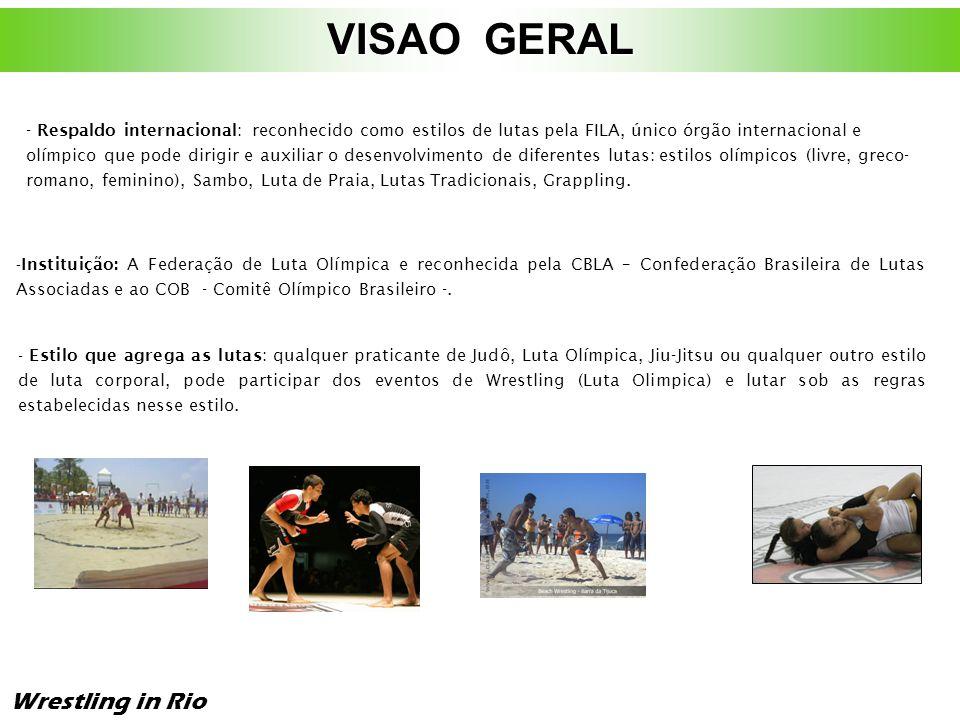 VISAO GERAL Wrestling in Rio