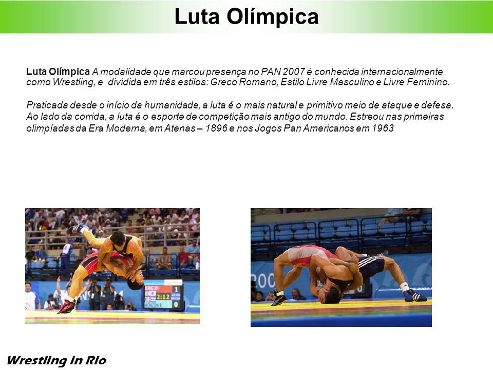 Luta Olímpica Wrestling in Rio