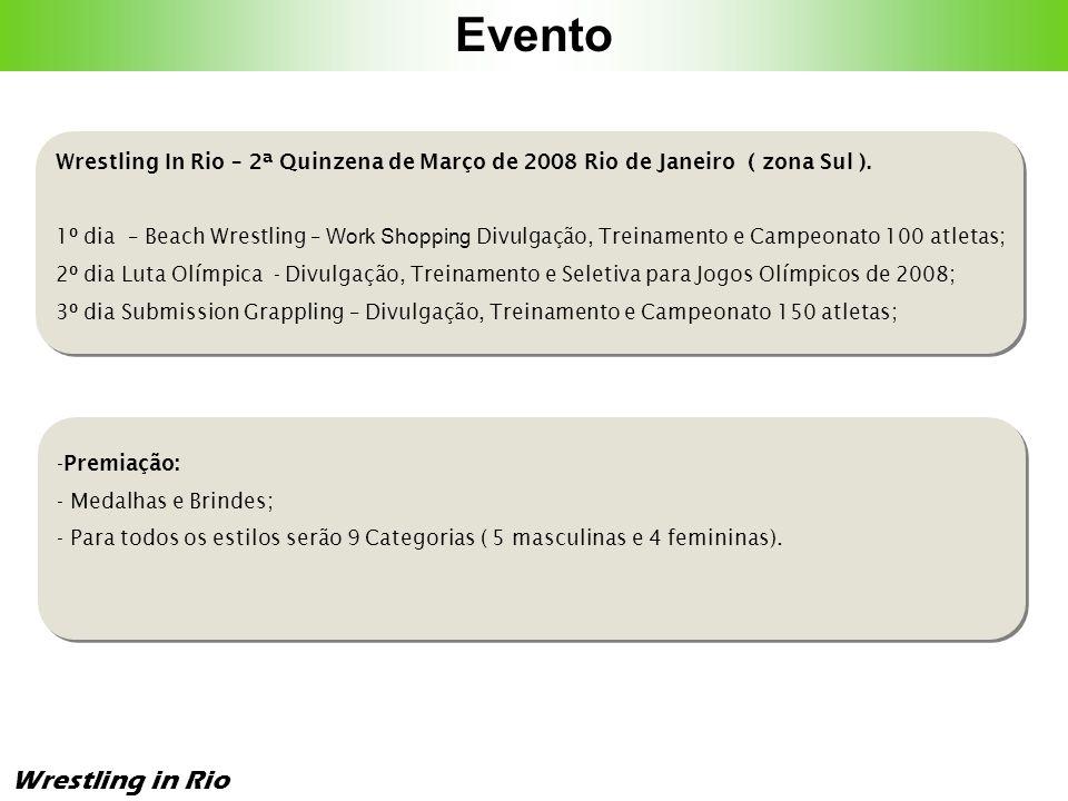 Evento Wrestling in Rio