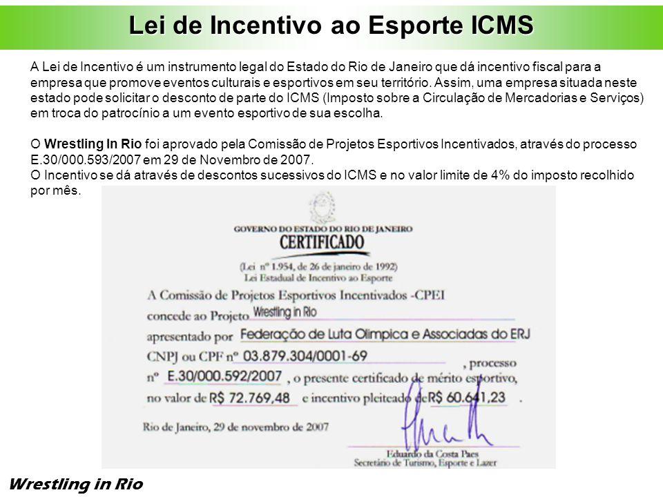 Lei de Incentivo ao Esporte ICMS