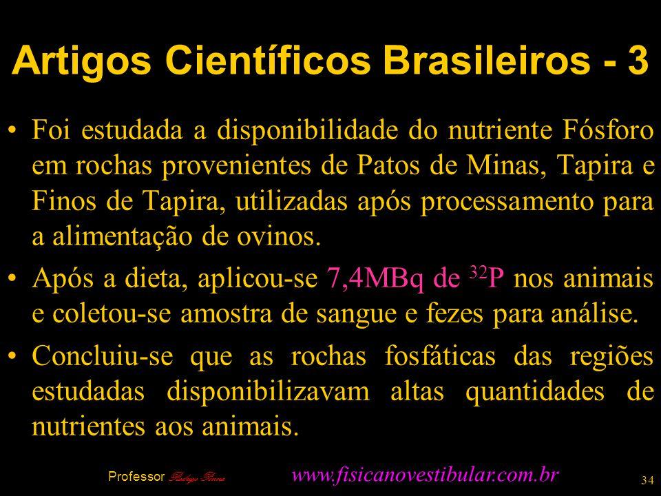 Artigos Científicos Brasileiros - 3