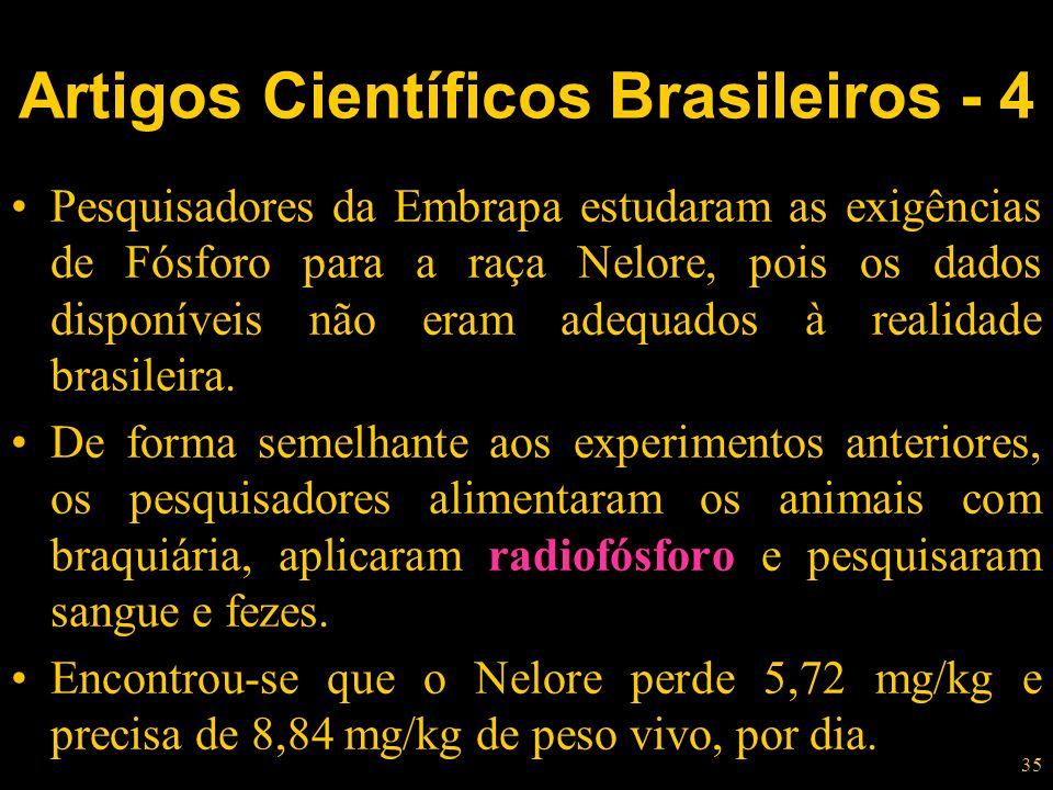 Artigos Científicos Brasileiros - 4