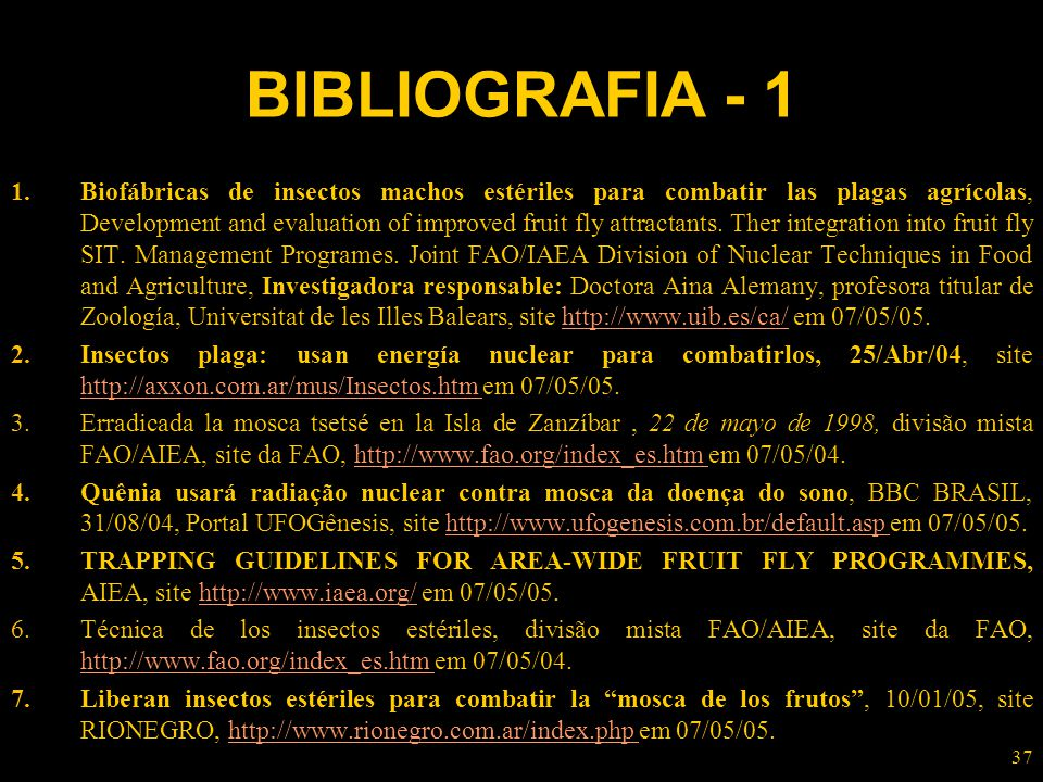 BIBLIOGRAFIA - 1
