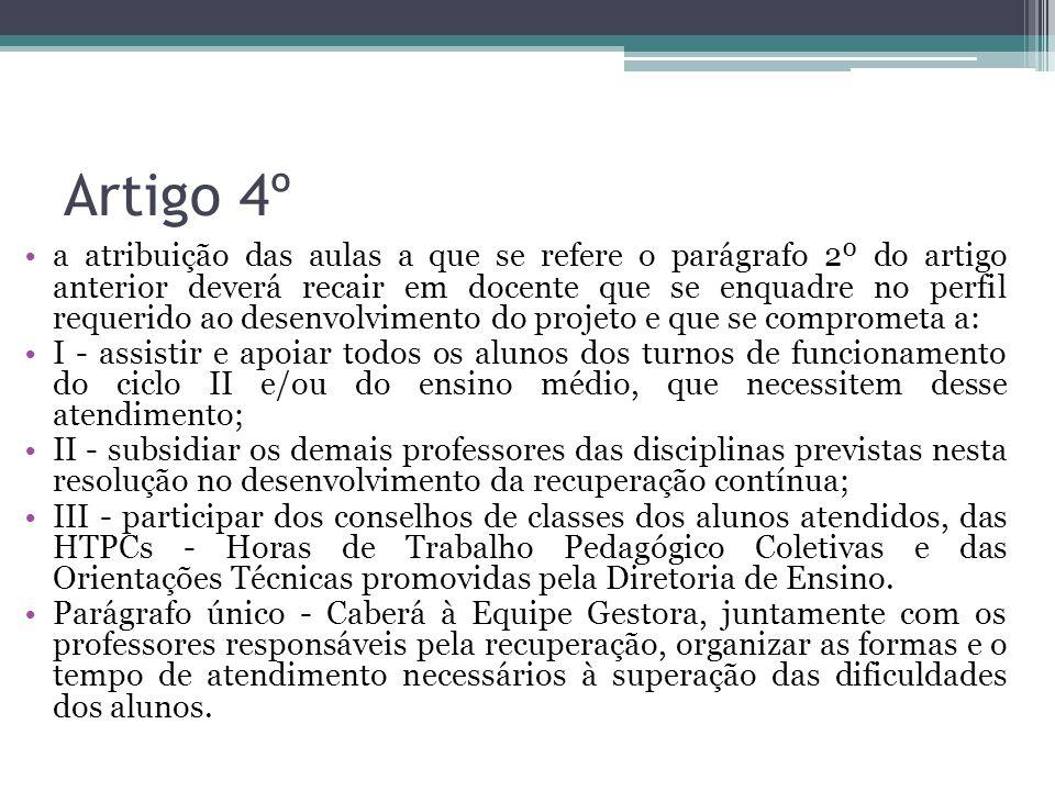 Artigo 4º