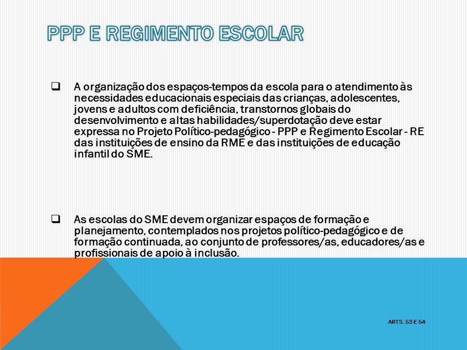 PPP E REGIMENTO ESCOLAR