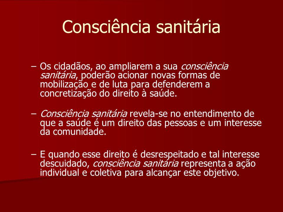 Consciência sanitária