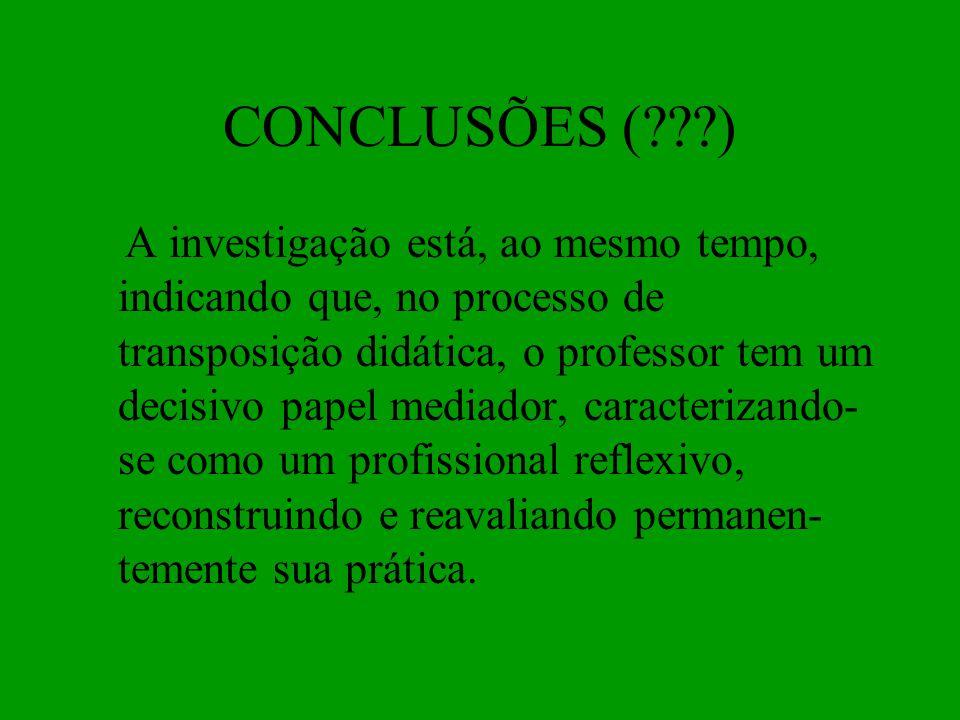 CONCLUSÕES ( )