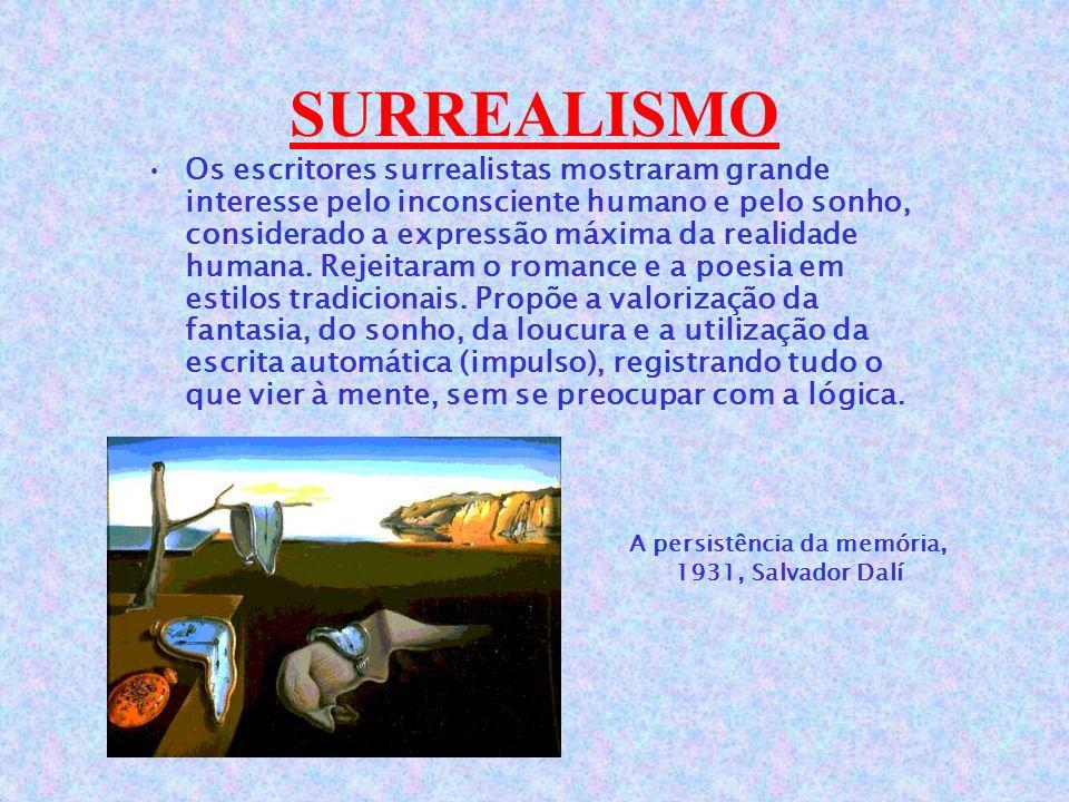 A persistência da memória, 1931, Salvador Dalí