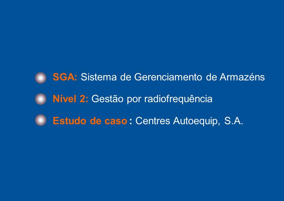 SGA: Sistema de Gerenciamento de Armazéns