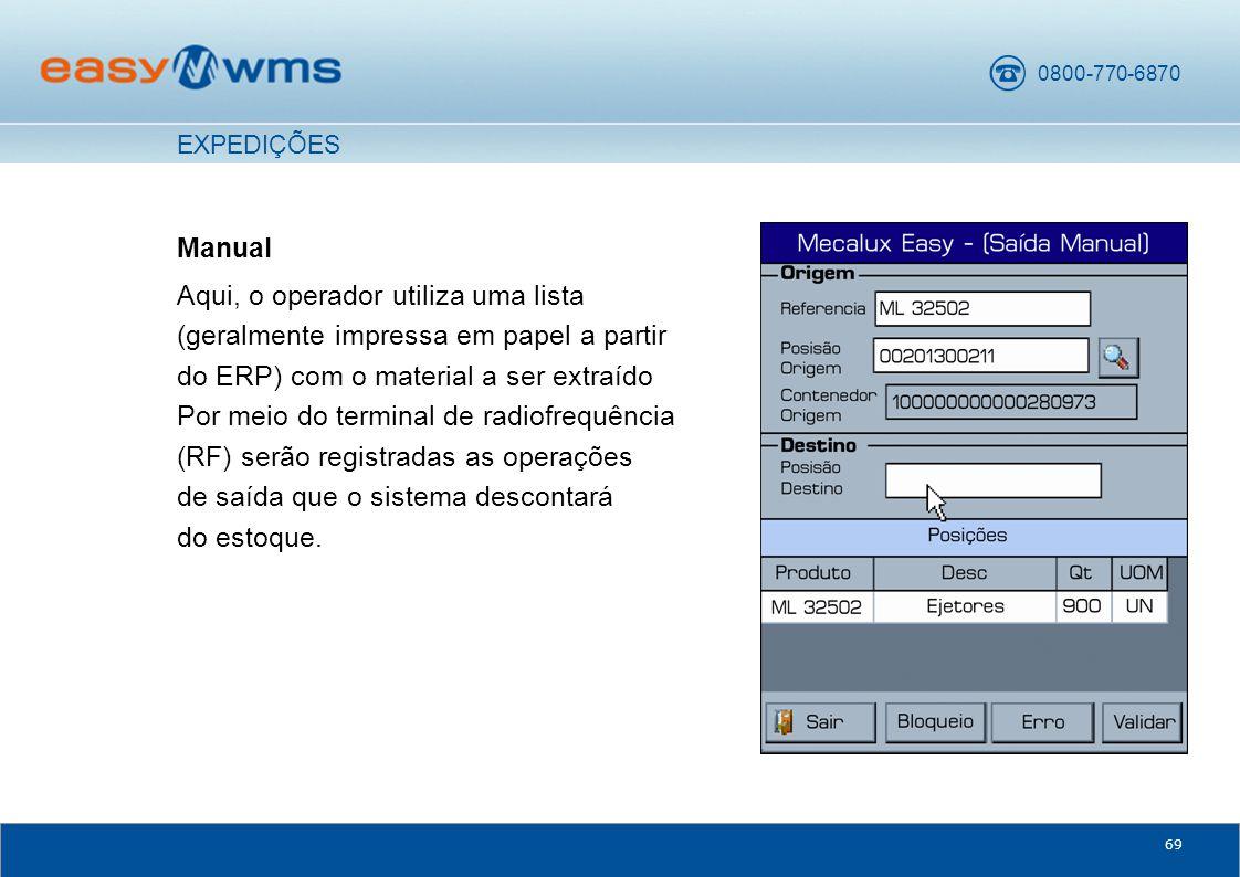 EXPEDIÇÕES Manual.