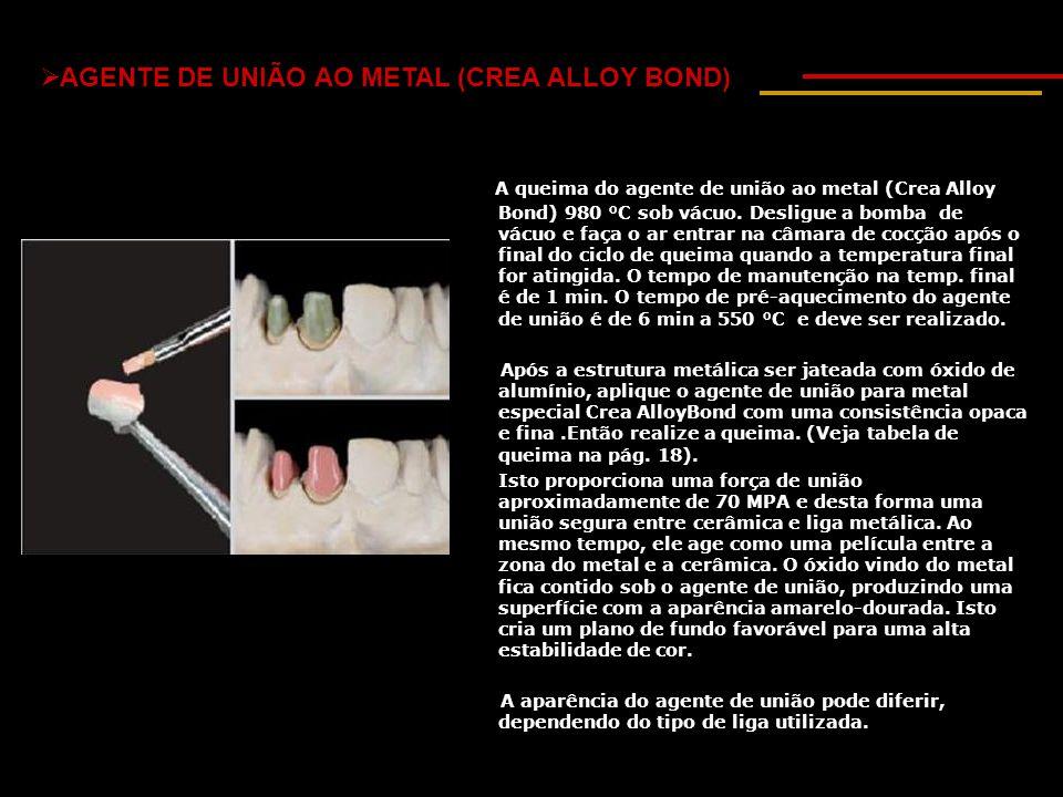 AGENTE DE UNIÃO AO METAL (CREA ALLOY BOND)