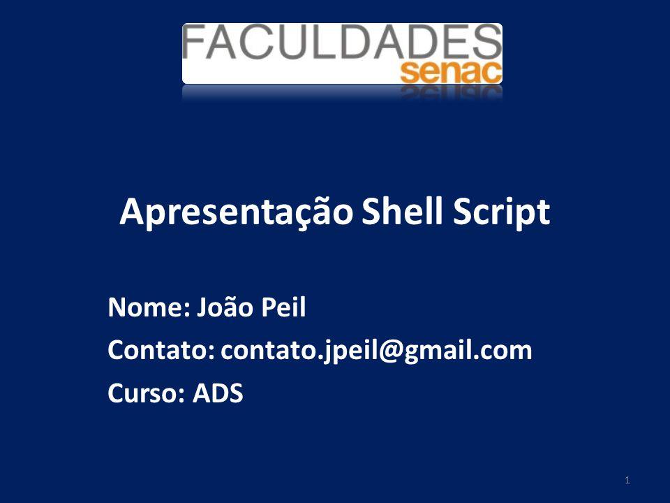 Apresentação Shell Script